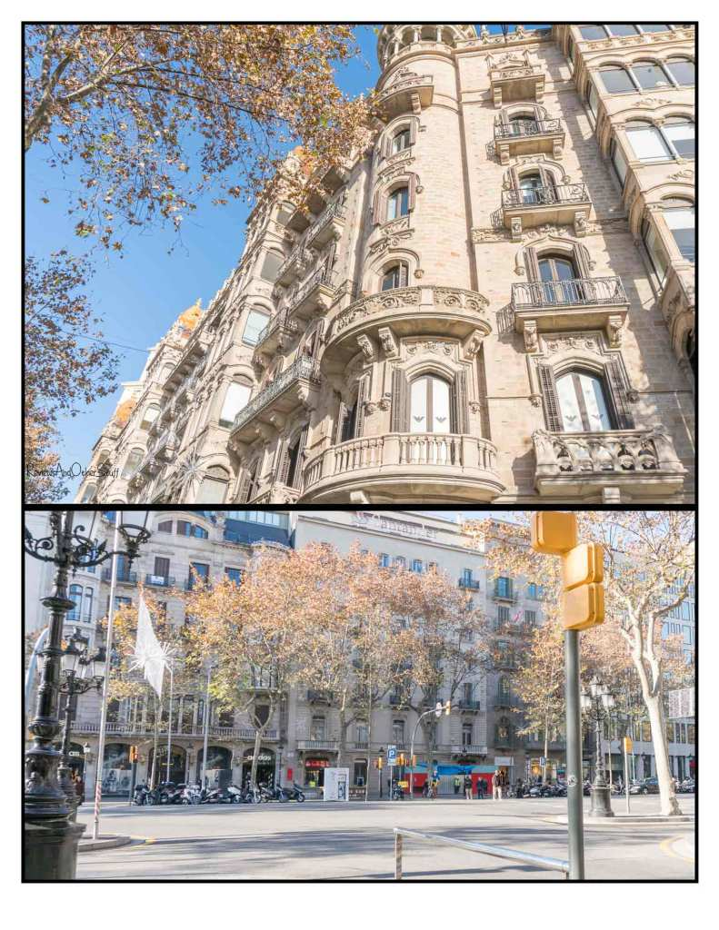passeo de gracia Barcelona