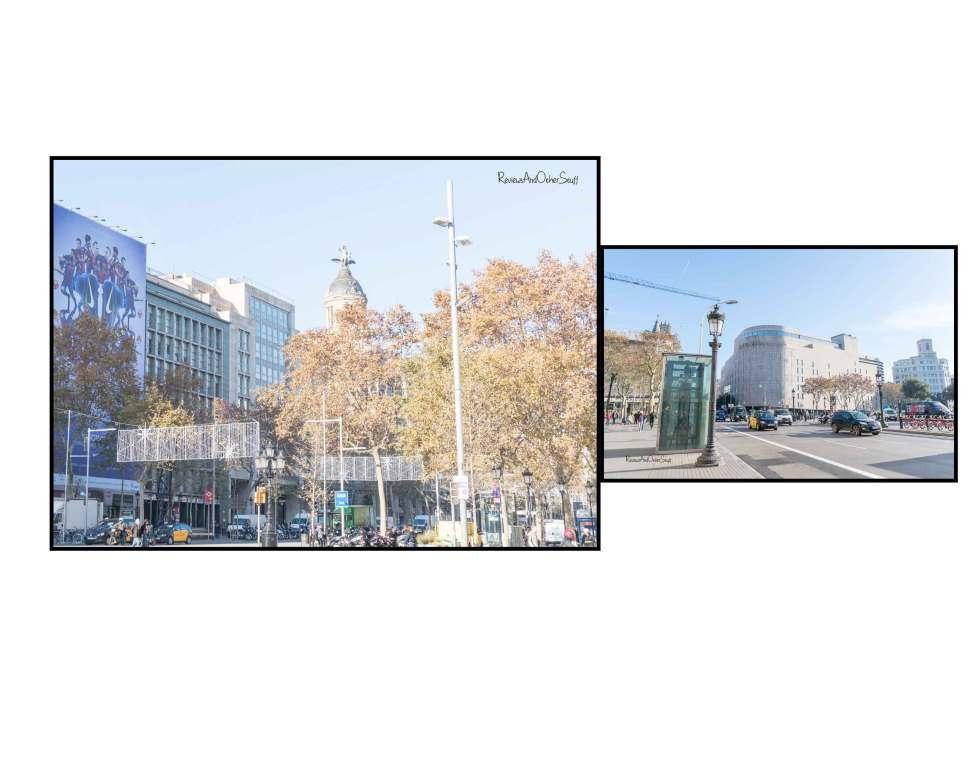 Barcelona passeig de gracia street