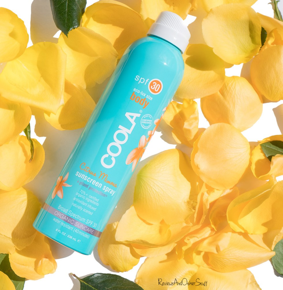 Coola Sport Continuous Spray Spf 30 Review