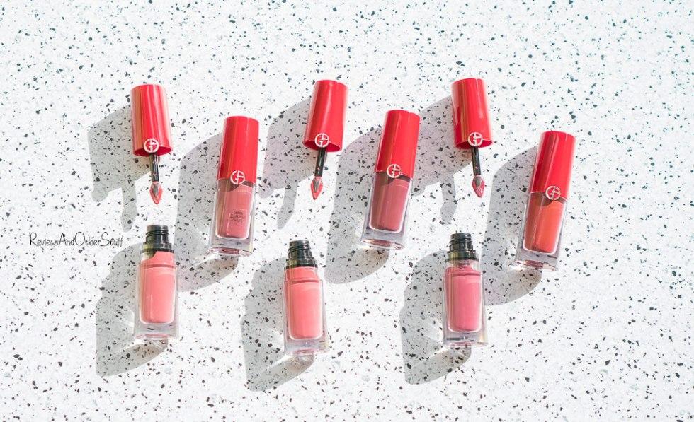 giorgio armani lip magnet lipsticks