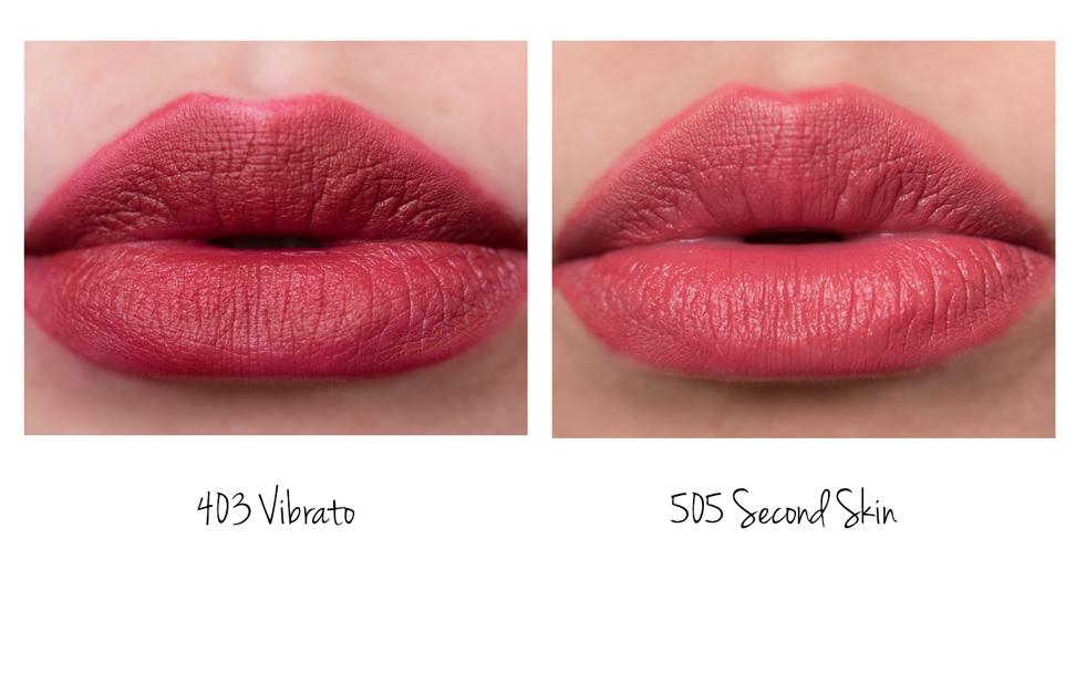 �ล�าร���หารู��า�สำหรั� Giorgio Armani Lip Magnet Second Skin Intense Matte Color 505
