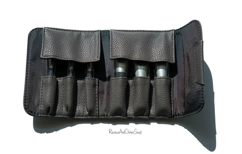 Sephora Collection Mini Deluxe Charcoal Antibacterial Brush Set Photos