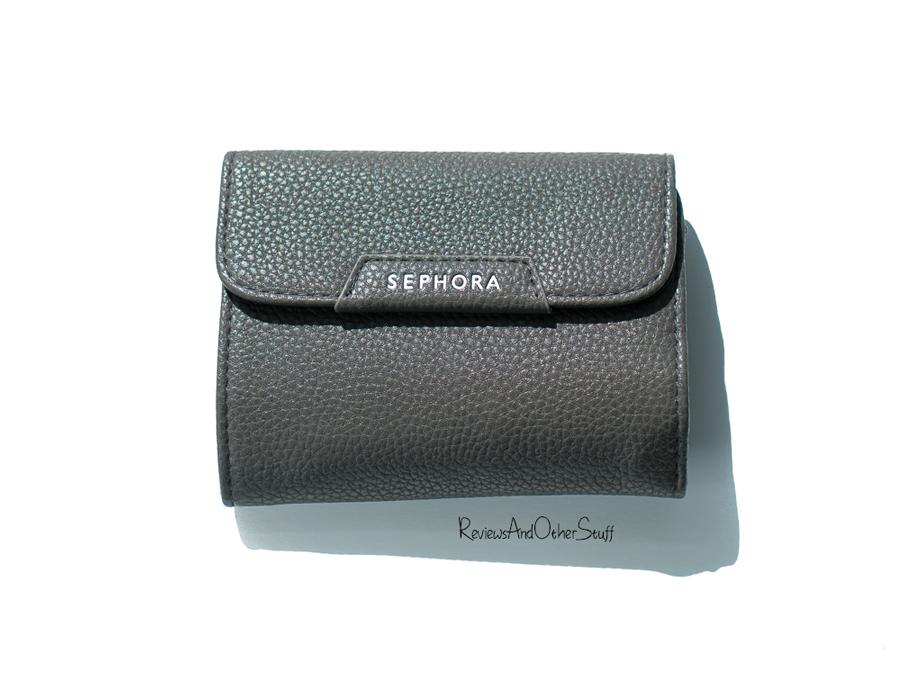 Sephora Collection Mini Deluxe Charcoal Antibacterial Brush Set