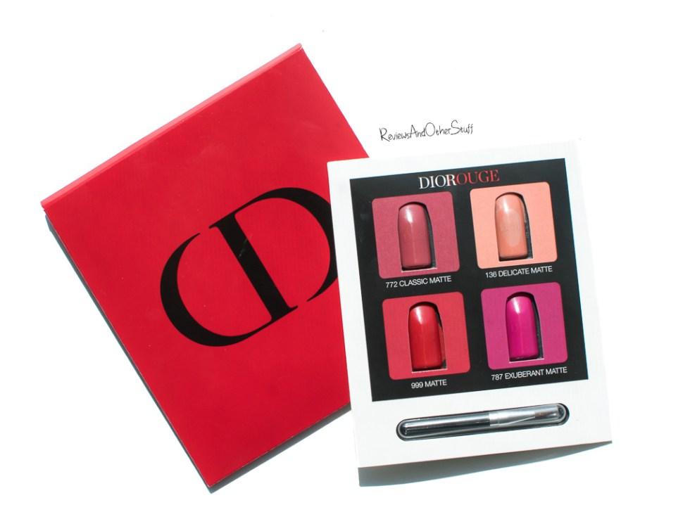 rouge dior matte lipsticks