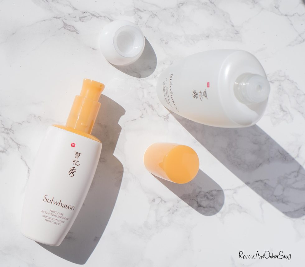 Sulwhasoo First Care Activating Serum & Snowise Brightening Water