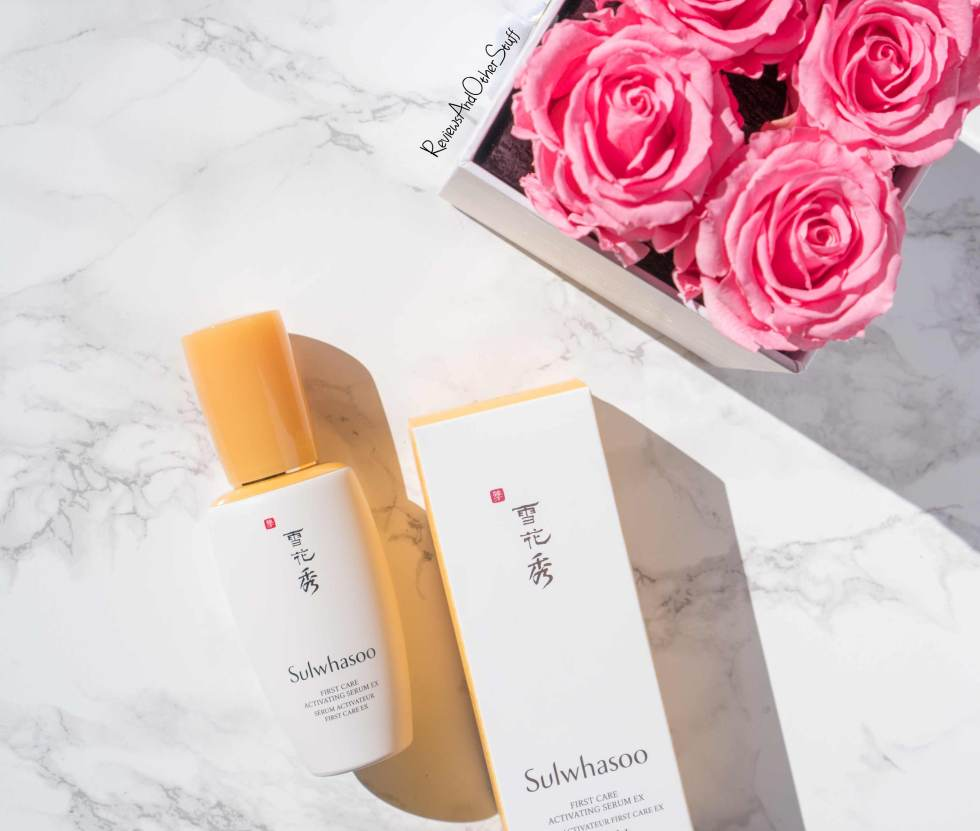 Sulwhasoo First Care Activating Serum review