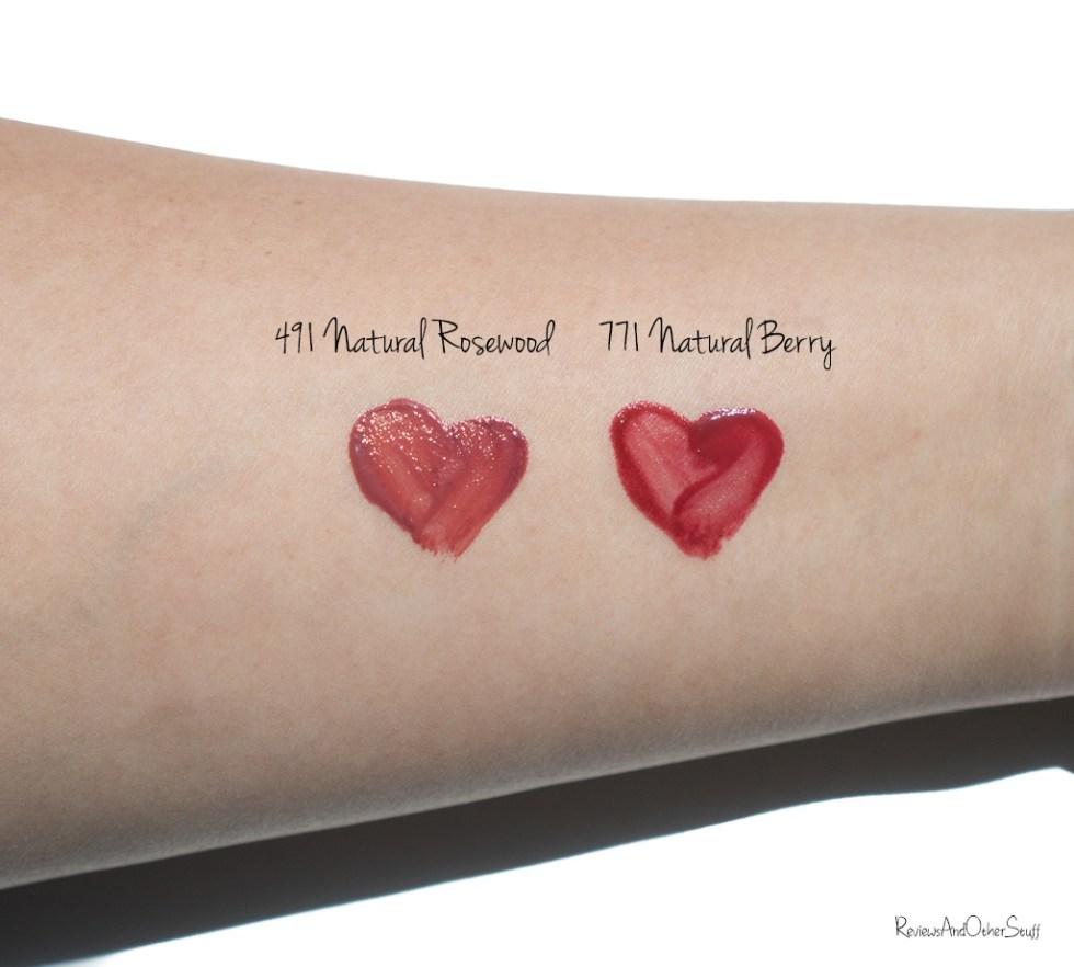 Dior Lip Tattoo swatches