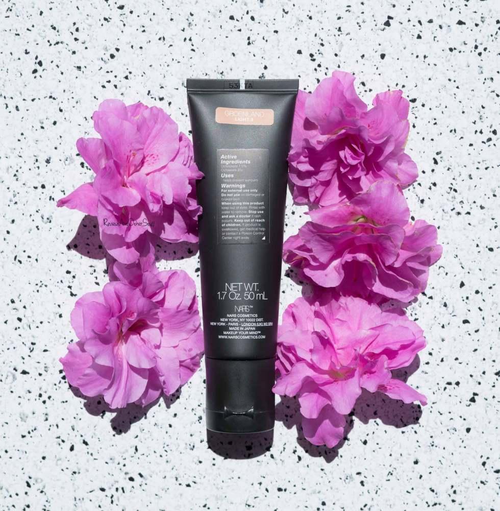 Nars Velvet Matte Skin Tint groenland review