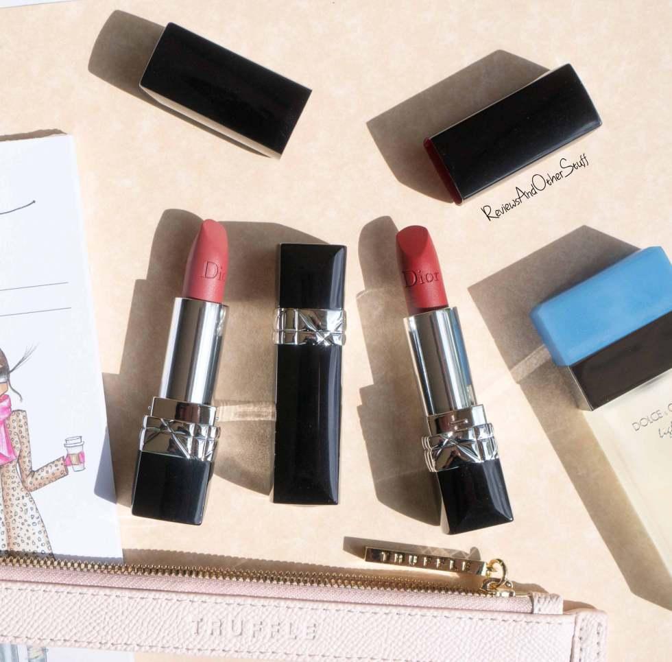 Dior. Rouge Dior Matte Lipsticks