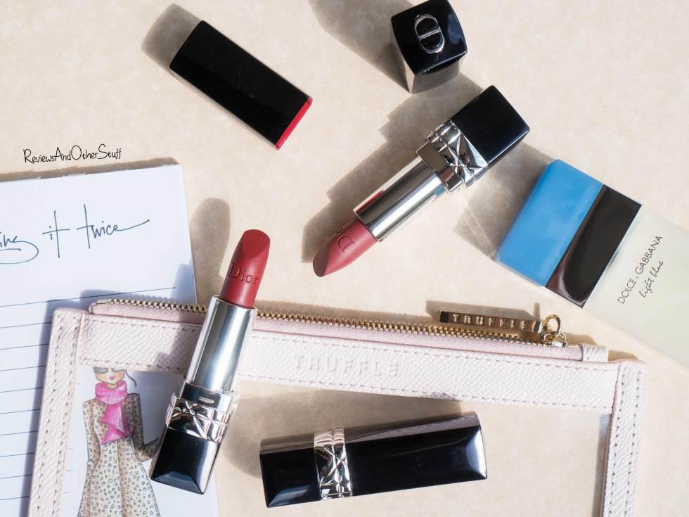 Dior Rouge Dior Matte Lipsticks