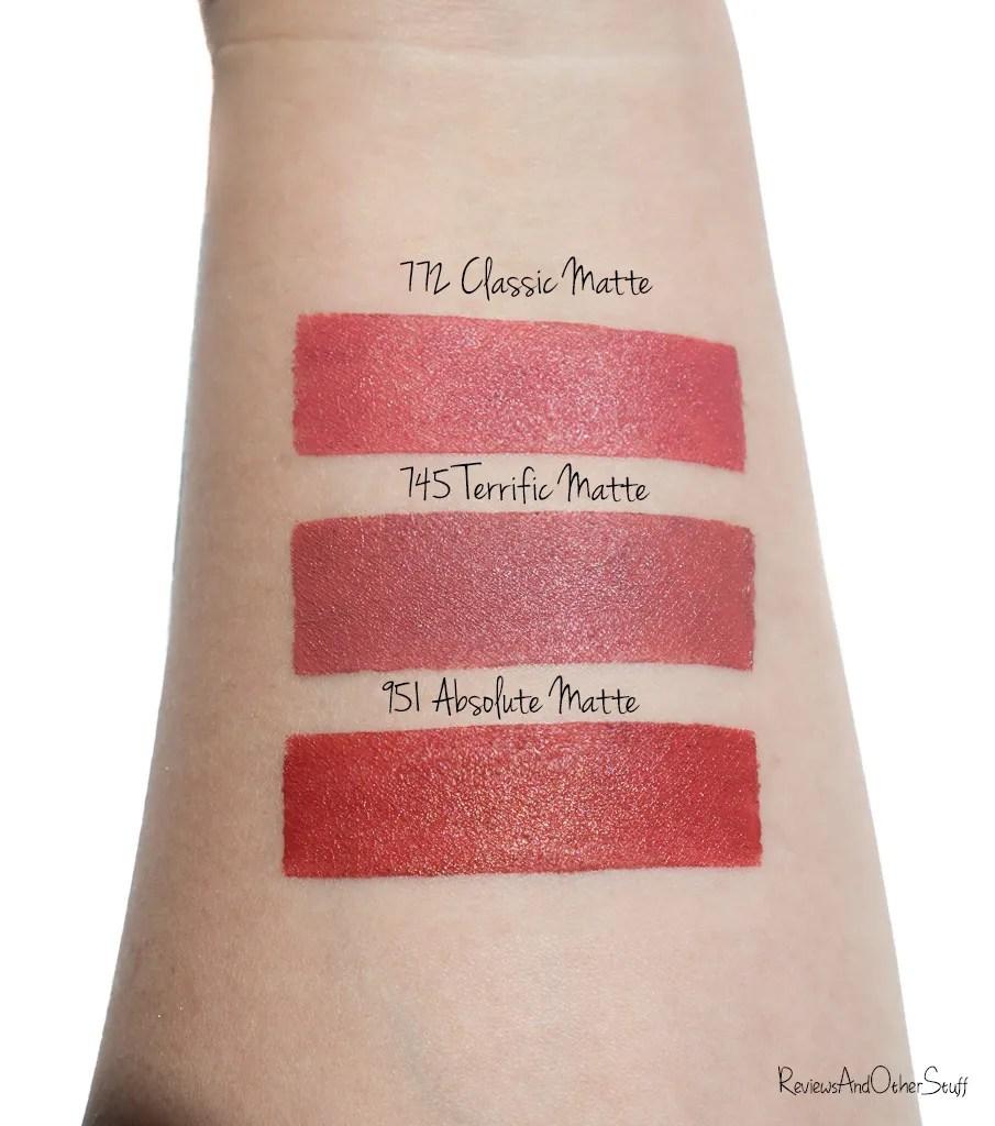 Rouge Dior Matte Lipsticks Review