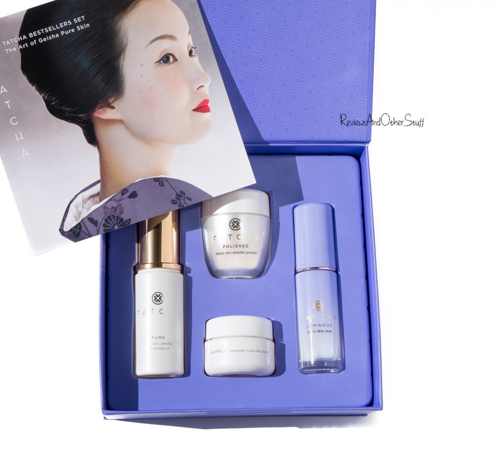 tatcha bestselling products