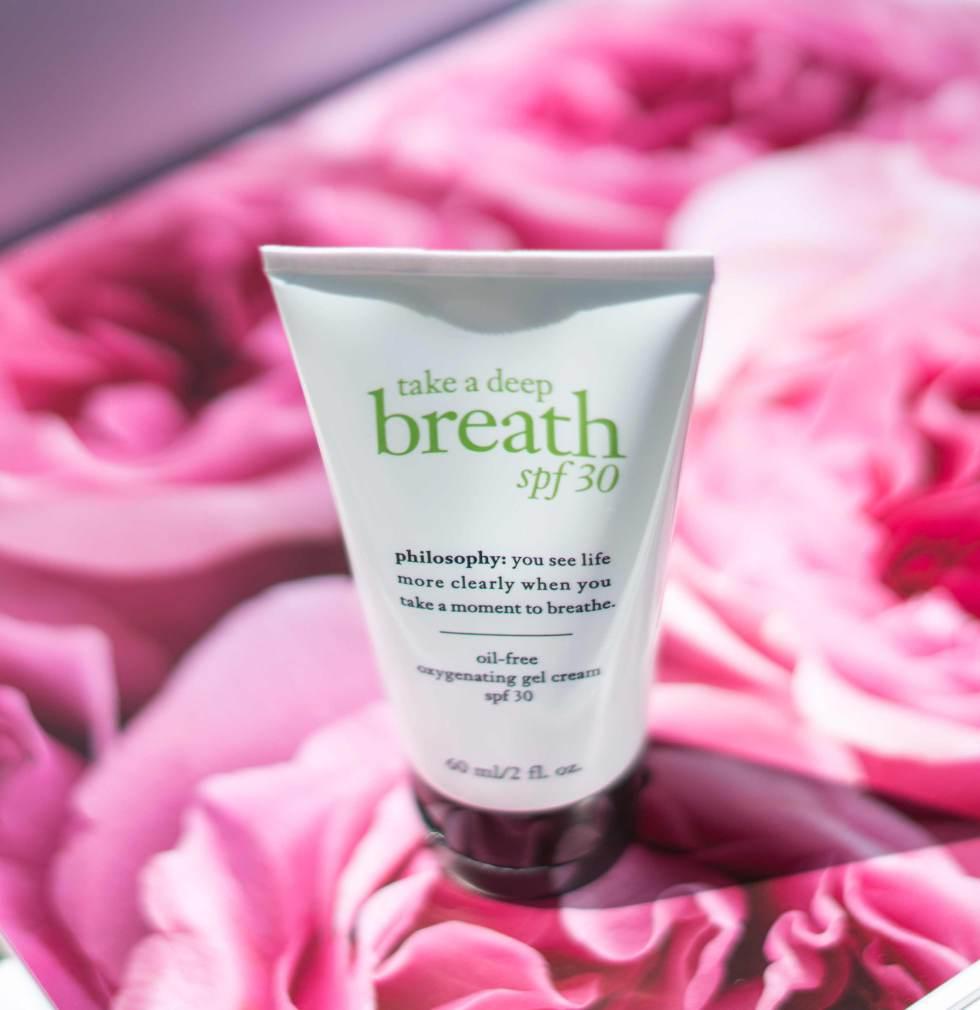 Philosophy Take a Deep Breath Oil-Free Oxygenating Gel Cream Spf 30