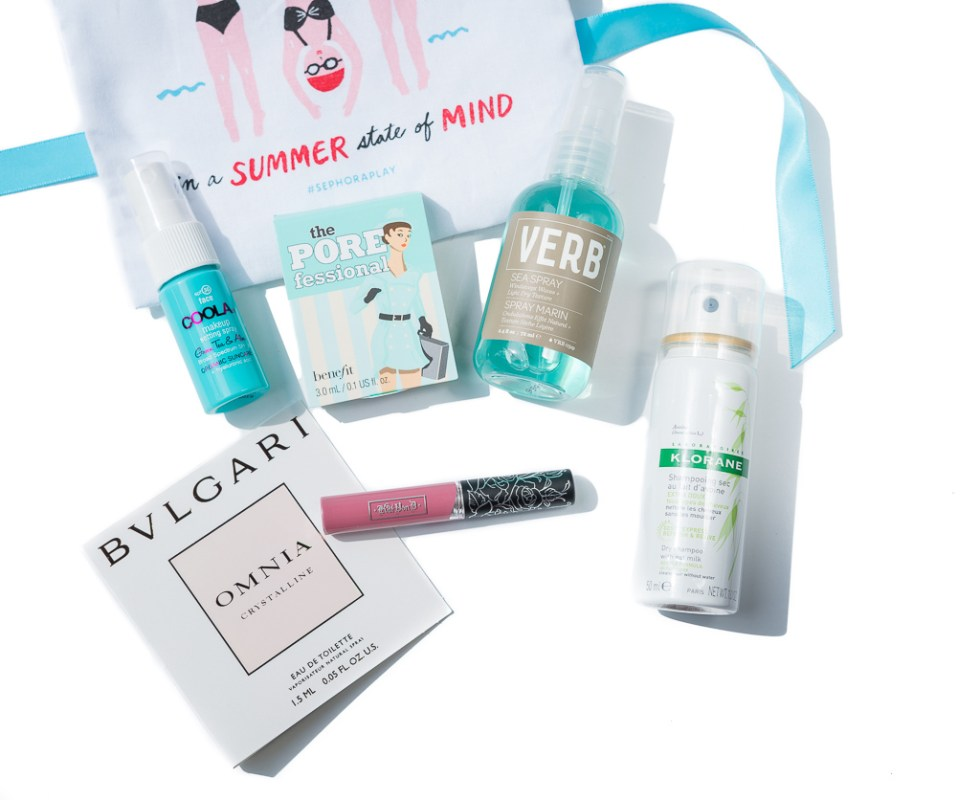 Sephora Play! June 2017 contents