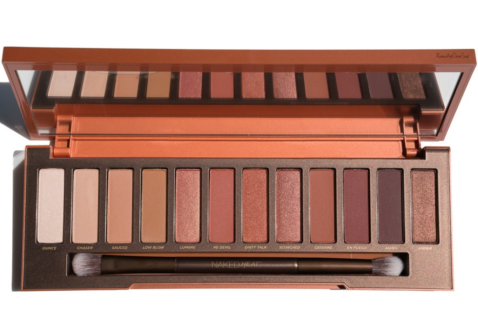 Urban Decay Naked Heat Palette Review