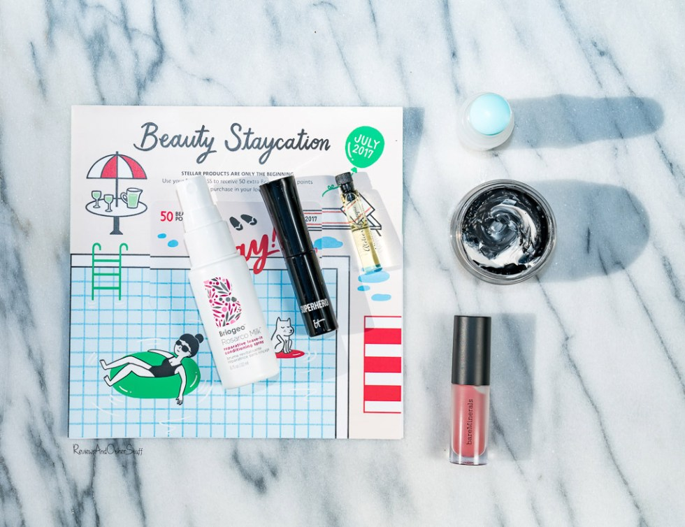 Sephora Play! July 2017 box contents