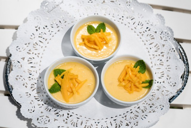 mango pudding recipe