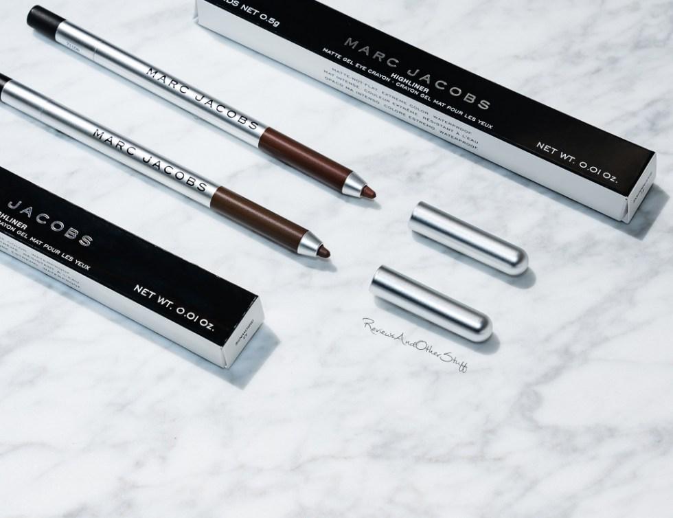Marc Jacobs Highliner Matte Gel Crayon Eyeliner review