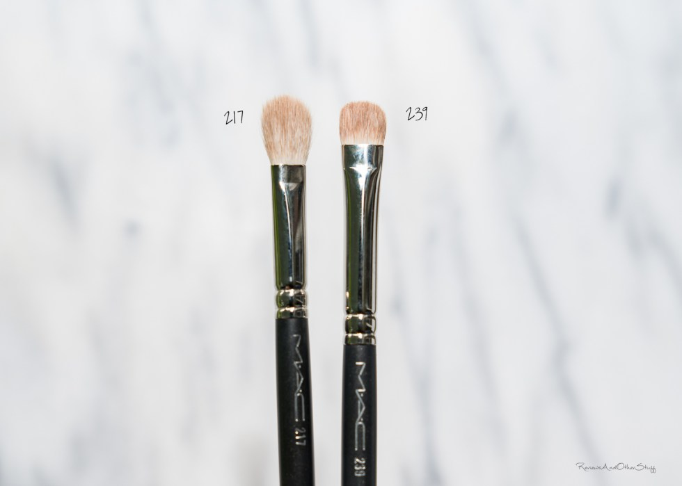 MAC Blending Brush #217 review