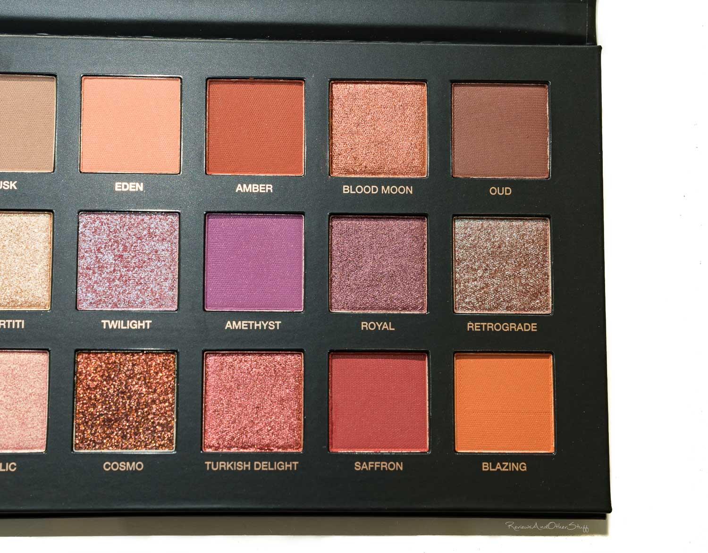 Huda Beauty Desert Dusk Eyeshadow Palette reviews in Eye