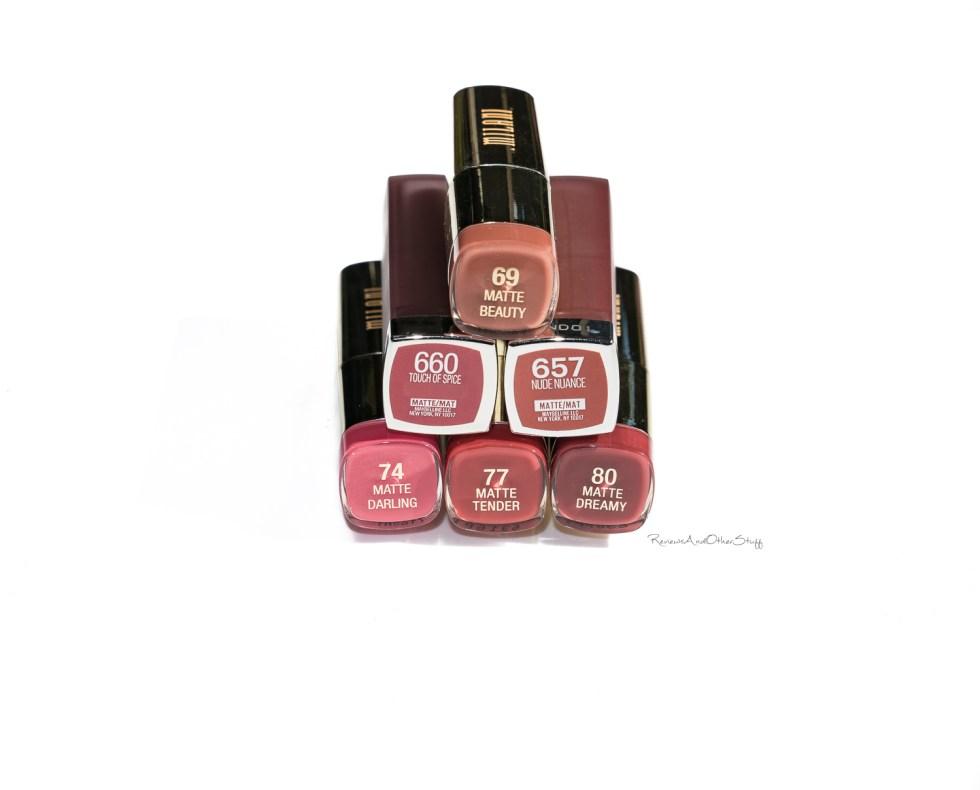 Maybelline Color Sensational Matte Lipstick review