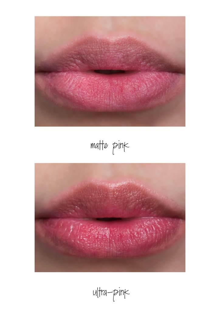 dior lip glow matte pink