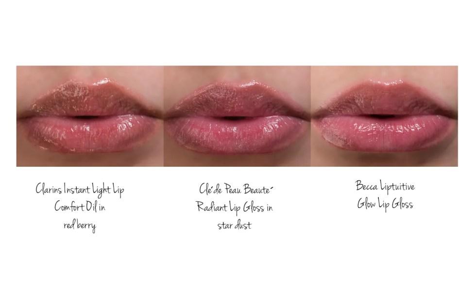 cle de peau radiant lip gloss in star dust