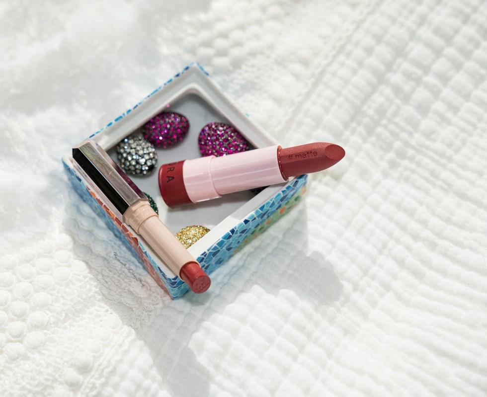 fenty mattemoiselle plush matte lipstick in spanked