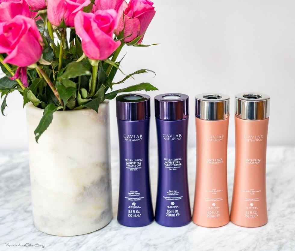 alterna haircare caviar anti-aging anti-frizz shampoo and conditioner review