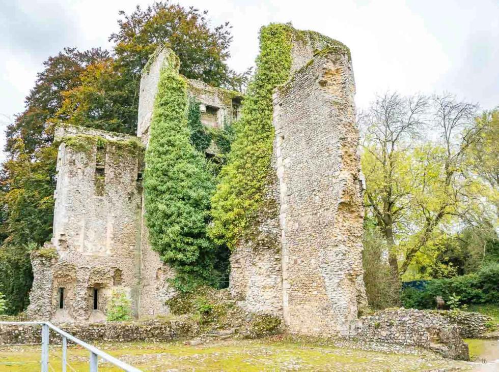bishop's waltham ruins united kingdom