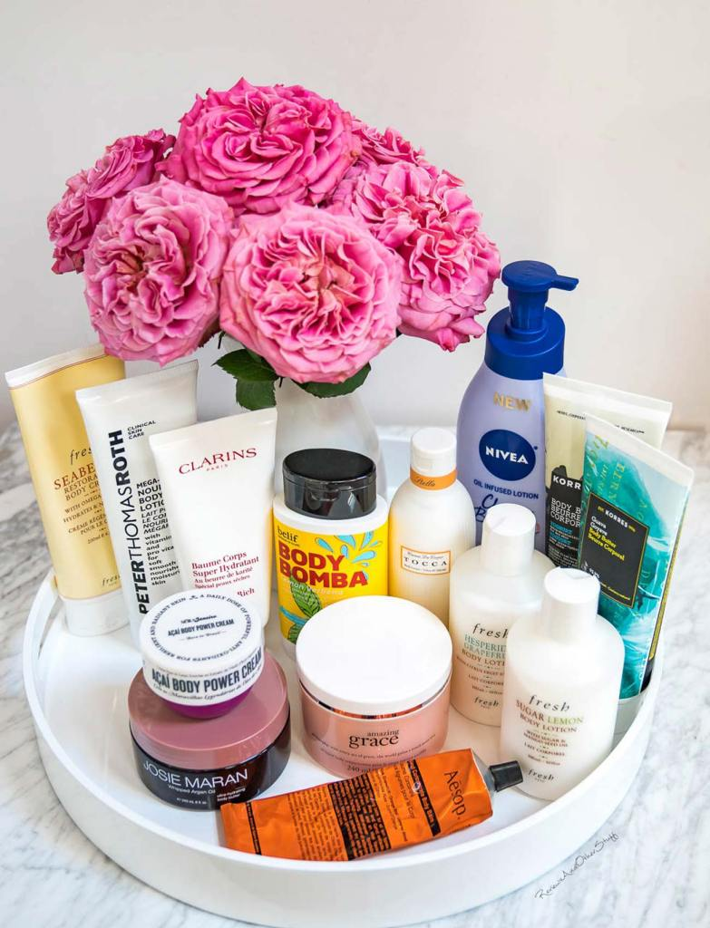 best body lotions, best body butters, and best body creams