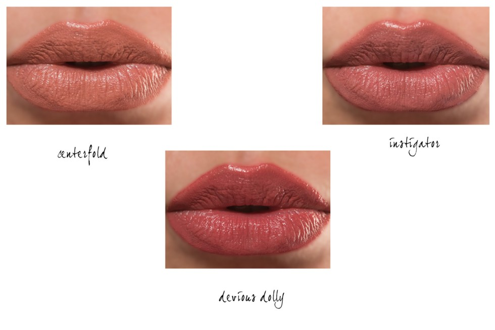 buxom wildly whipped lightweight lipstick swatches