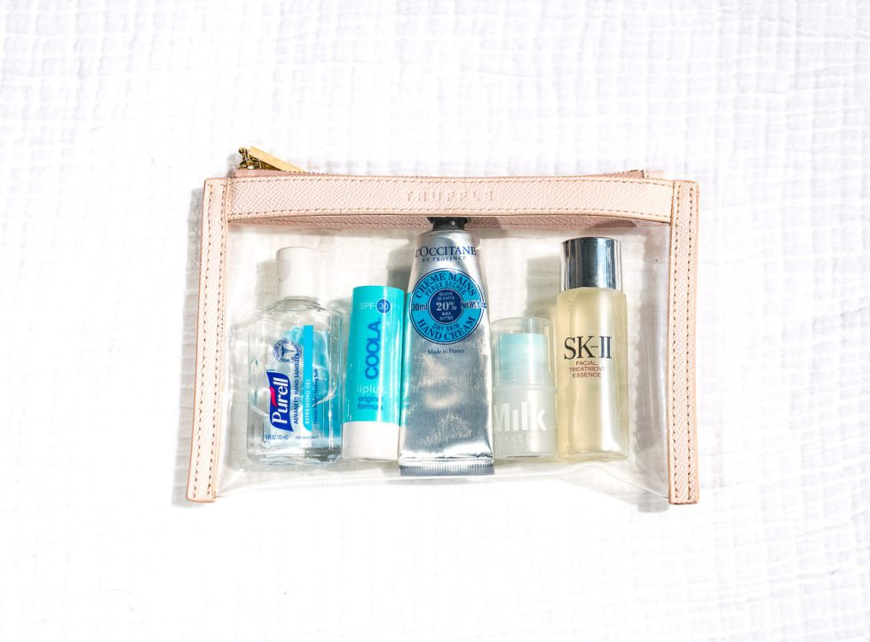 Truffle Clarity Clutch Mini