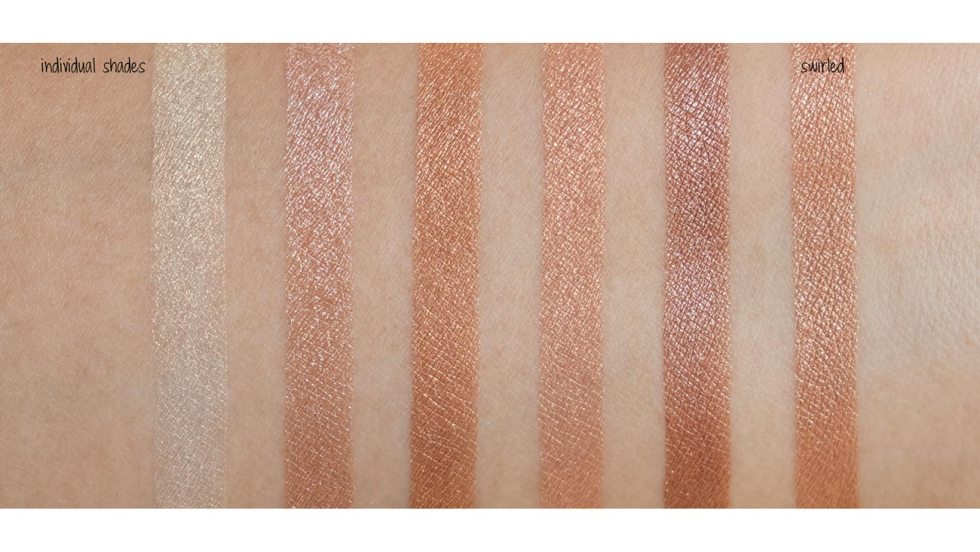 bobbi brown shimmer brick in bronze swatch