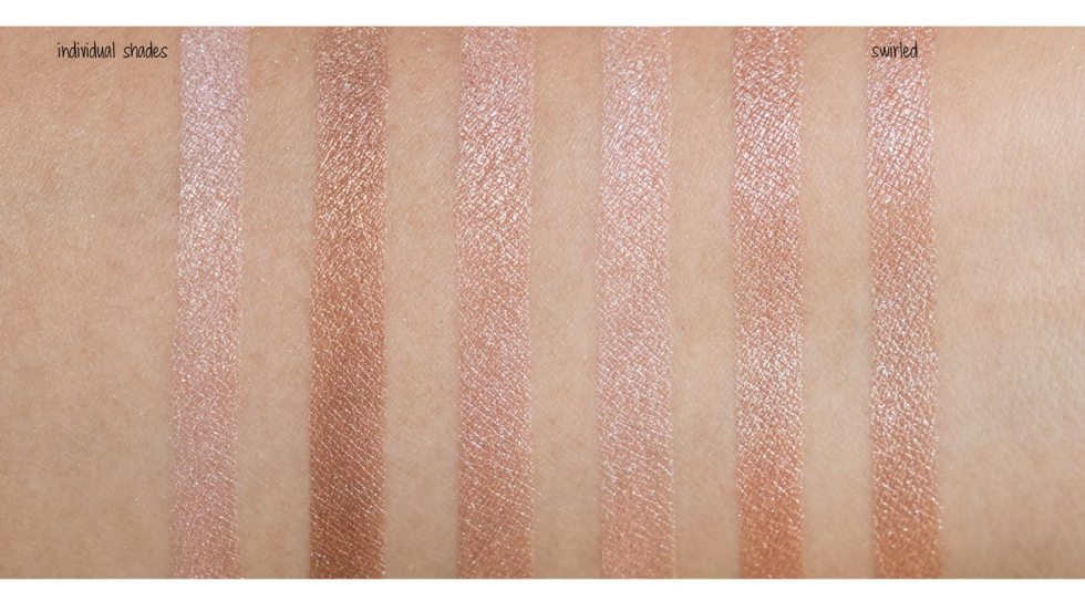 bobbi brown shimmer brick in pink quartz swatch