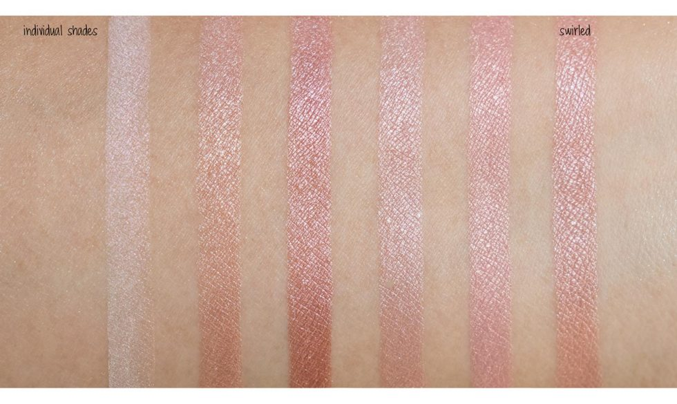 bobbi brown shimmer brick rose swatch