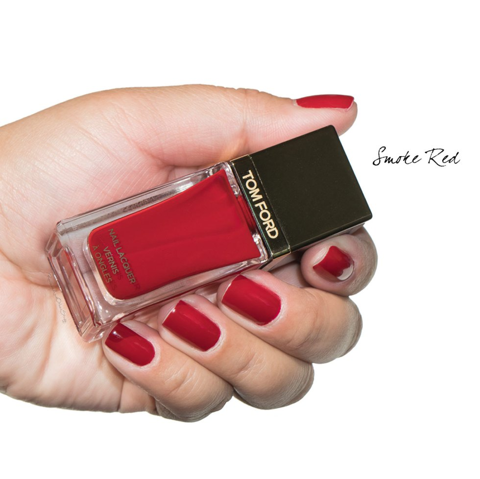 tom ford smoke red nail lacquer