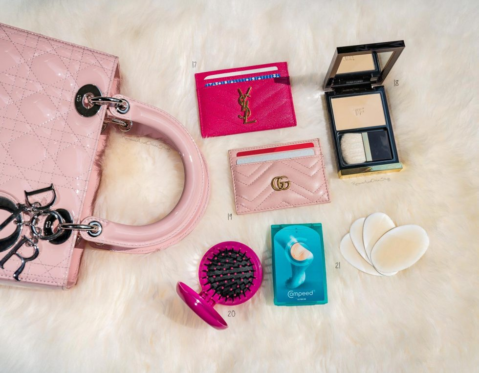 what's inside my Lady Dior bag
