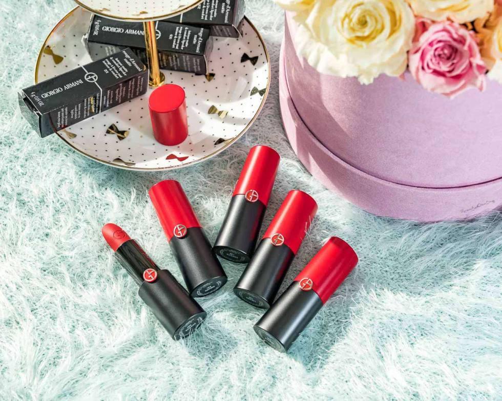 Giorgio Armani Beauty Rouge D'Armani Matte Lipstick review