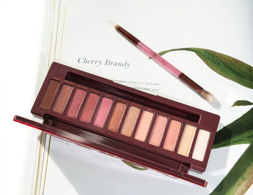 Urban Decay Naked Cherry Eyeshadow Palette Review And Swatches --3915