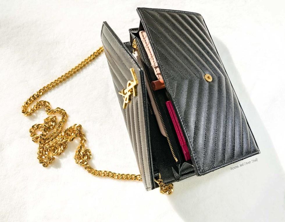 saint laurent wallet on chain bag