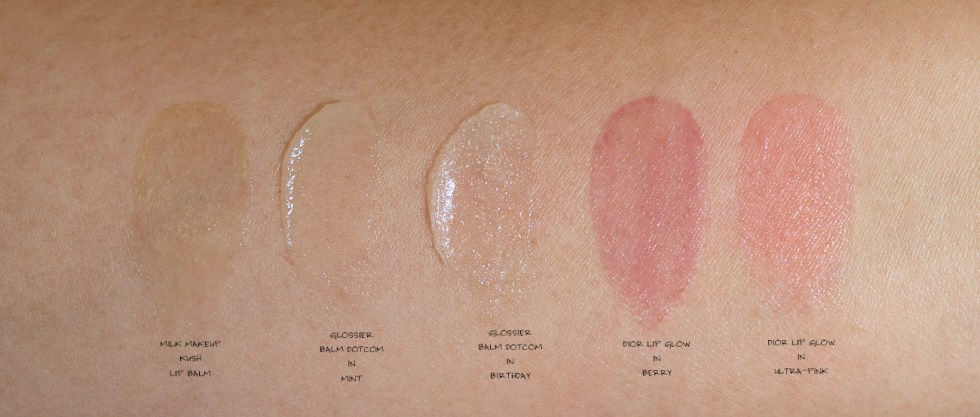 Dior Lip Glow in 008 Ultra-Pink swatch