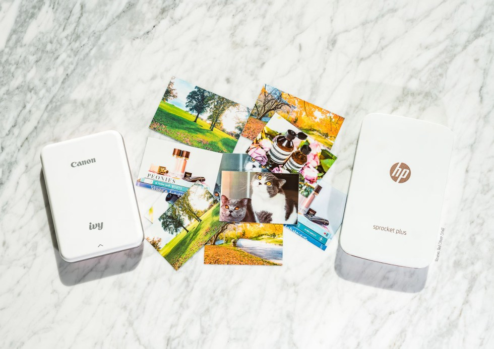 canon ivy compared to hp sprocket