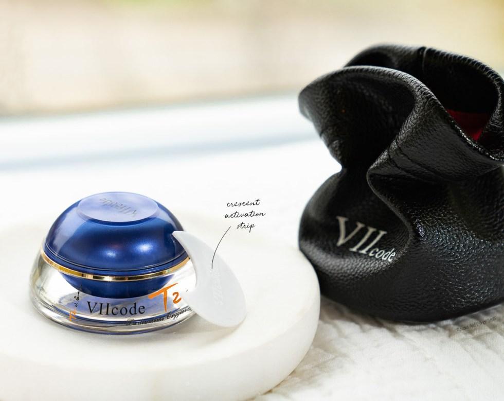 VII Code T2 Oxygen Eye Cream O3.0 how to apply