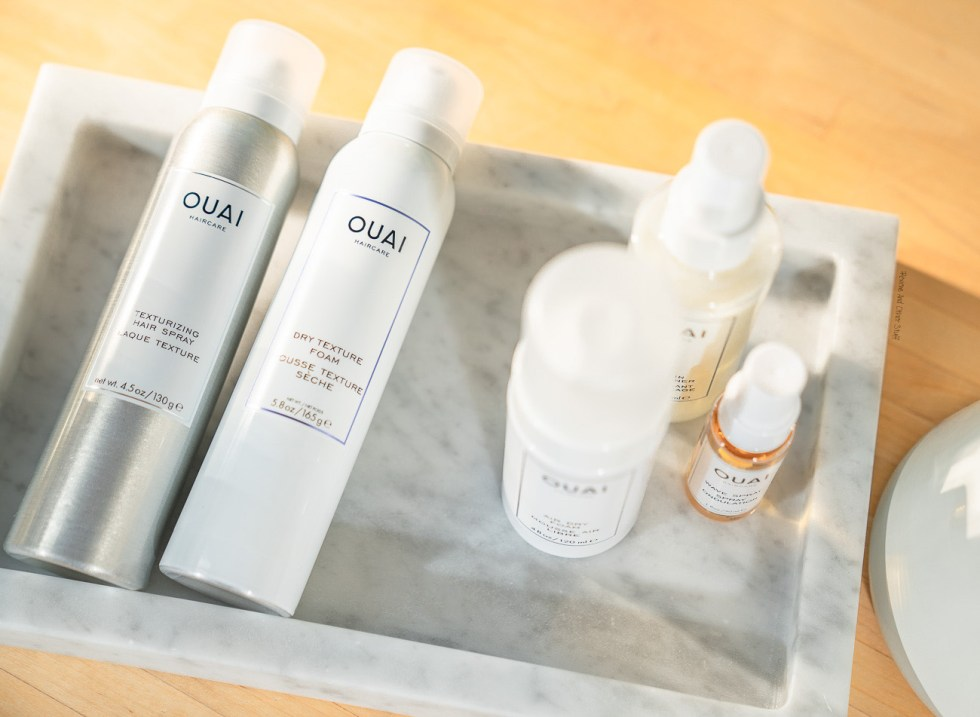 ouai texturizing hair spray review