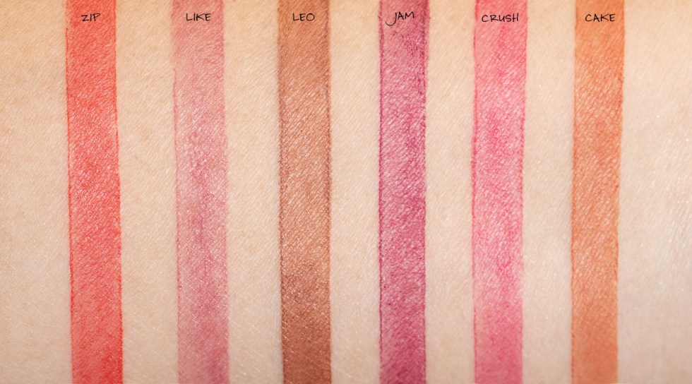 glossier generation g sheer matte lipstick new formula swatch