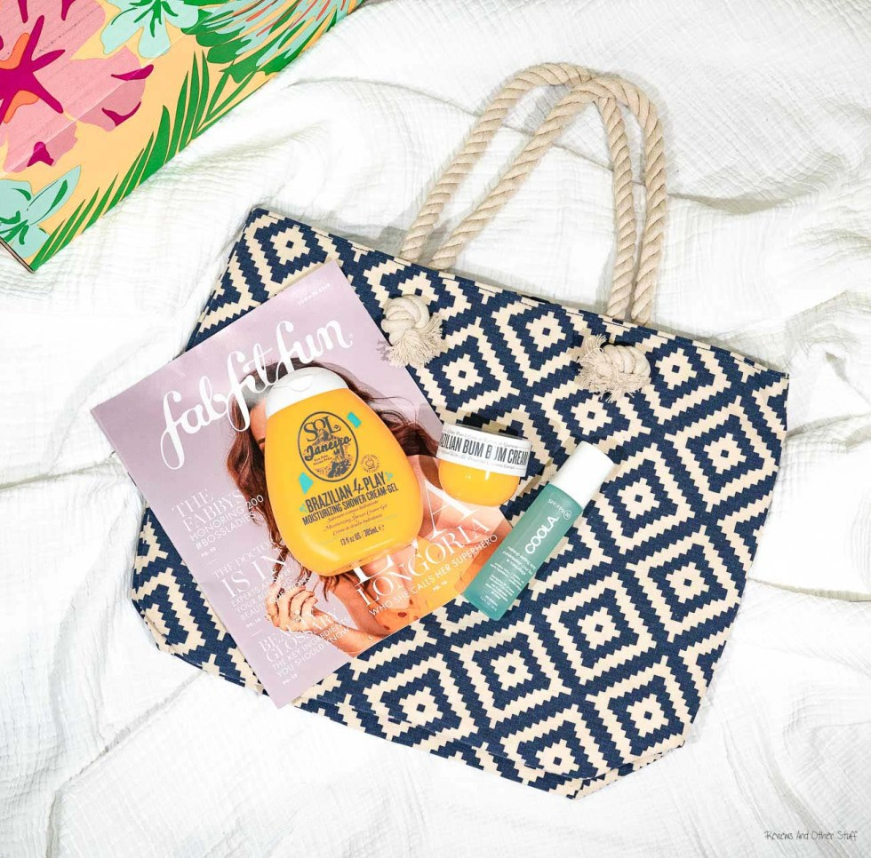 Summer & Rose Navy Diamond Tote