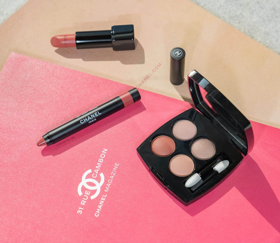 Chanel Les 4 Ombres Multi-Effect Quadra Eyeshadow in 328 Blurry Mauve