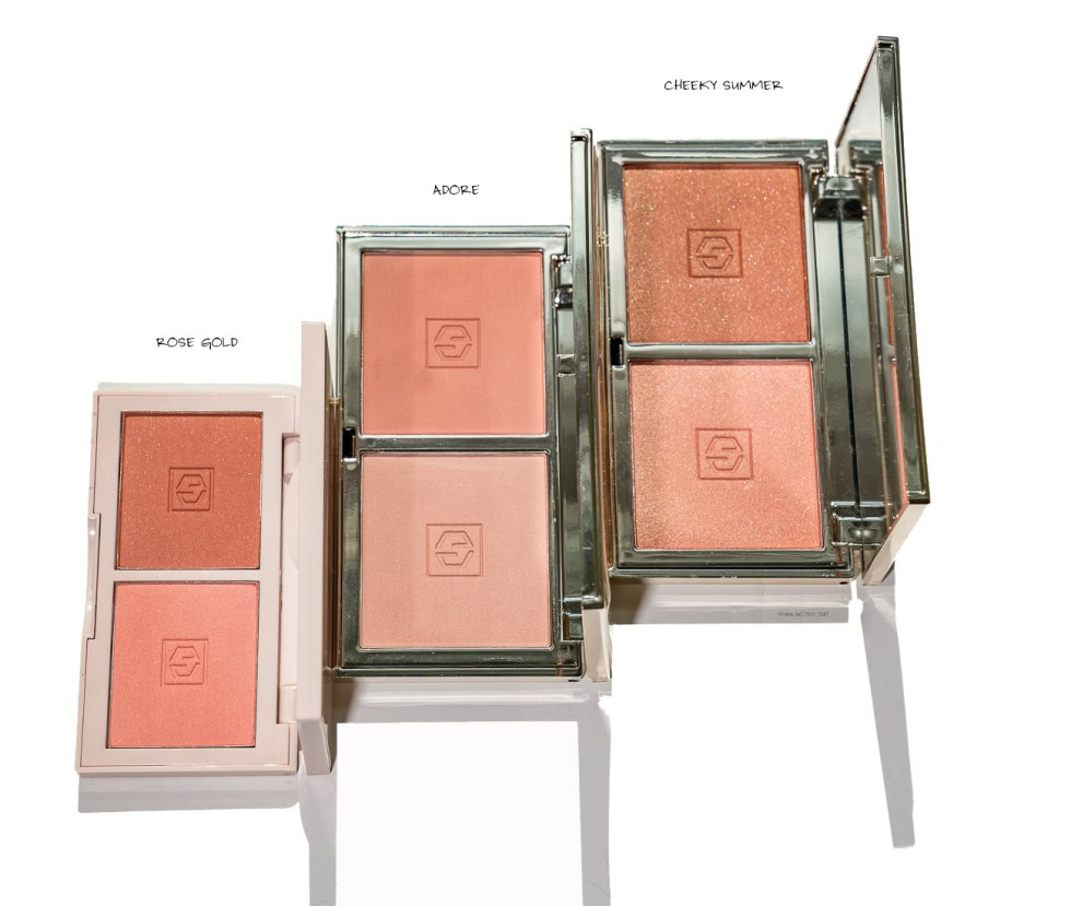 Jouer Cosmetics Blush Bouquet Palette review and swatch