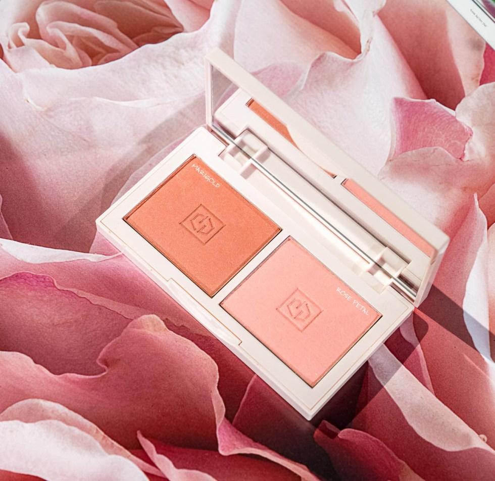 Jouer Cosmetics Blush Bouquet Palette Rose Gold
